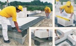 Технология строительства дом из газобетона