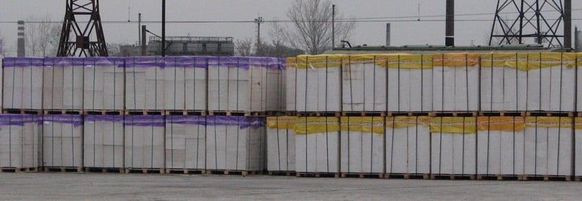 Купить газобетон в Харькове на основе ХСМ.