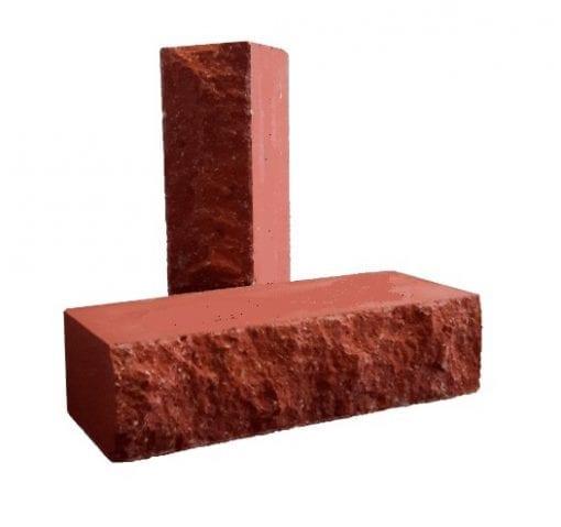 Рубелэко кирпич скала красный полнотелый
