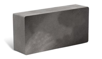 гладкий облицовочный кирпич серый Галеон