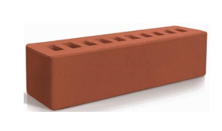 Керамический брусок Евротон красный 250х65х65
