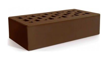 Керамический кирпич Евротон коричневый 250х120х65