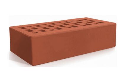 Керамический кирпич Евротон красный 250х120х65