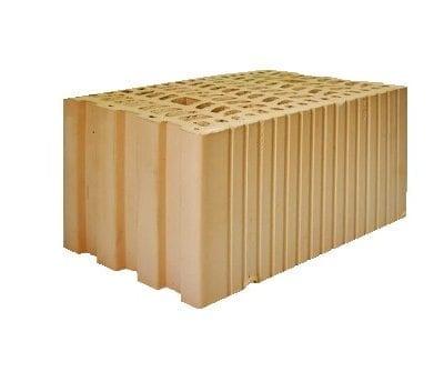 крупноформатный блок керамический