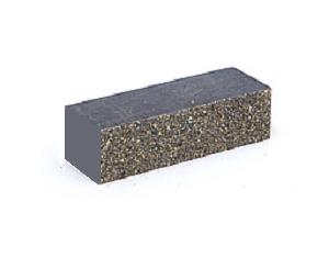 (Серый) облицовочный кирпич Евроцегла узкий колотый 250х67х65