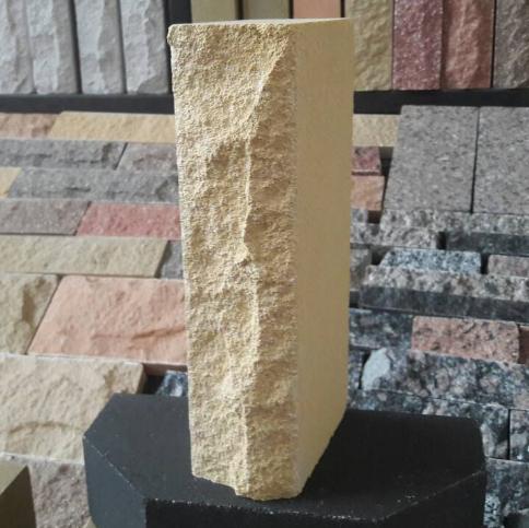 ( Слоновая кость ) Кирпич Лэнд Брик Скала 250х100х65
