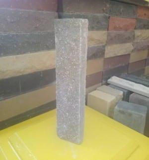 ( Коричневая ) Фасадная плитка Land brick Скала 250х22х65