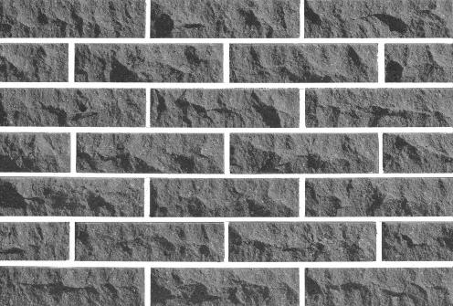 Рваный кирпич ( Графит ) скала Евроцегла