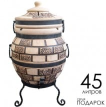 Купить Тандыр King серия 1 дизайн под кирпич в Украине