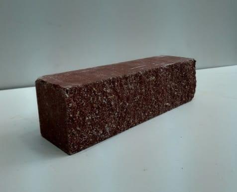 ( Красный ) Узкий кирпич Land brick Колотый тычковой 230х60х65
