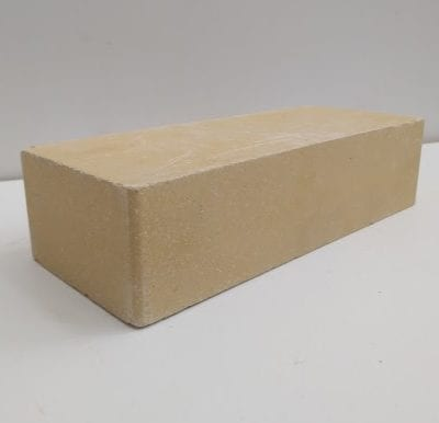 Купить гладкий кирпич слоновая кость Лэнд Брик 250х120х65