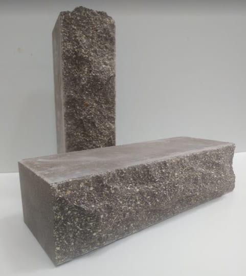 Рваный кирпич ( Коричневый ) скала Евроцегла