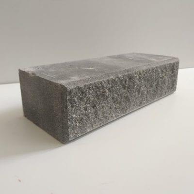 ( Серый ) Кирпич Лэнд Брик Колотый фаска 250х100х65