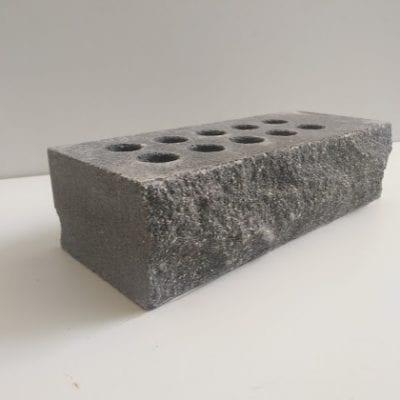 ( Серый ) Облицовочный кирпич Land brick скала 250х100х65