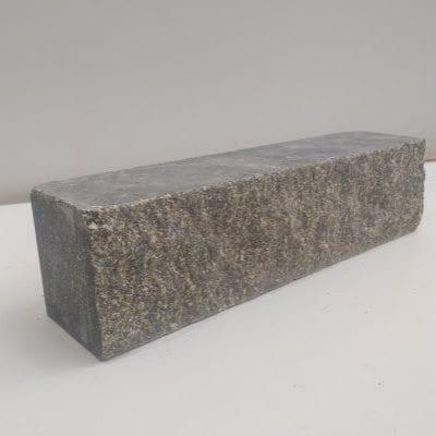 ( Серый ) Узкий кирпич Land brick Колотый тычковой 230х60х65