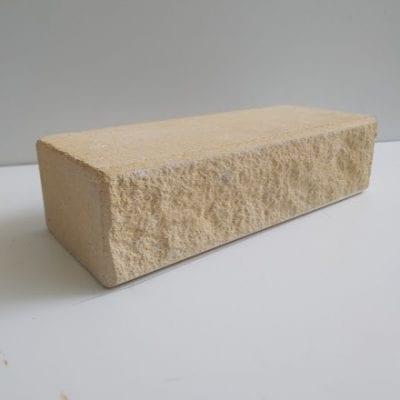 ( Слоновая кость ) Лицевой кирпич Литос Фаска 230х107х65