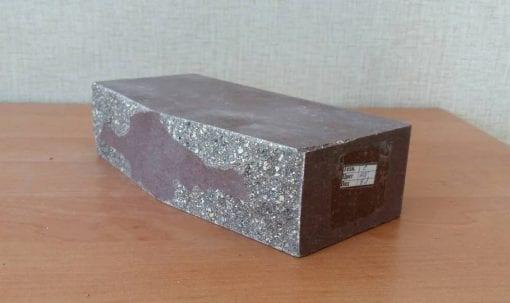 Кирпич Фагот фактура Звездочка шириной 120 мм
