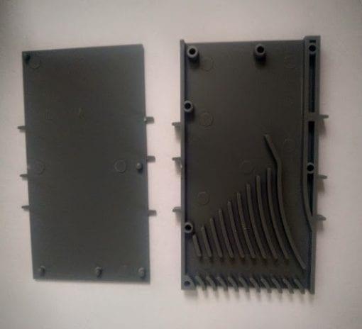 ( EOS ) Вентиляционная коробка для кирпичной кладки серая