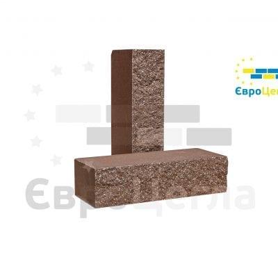 Кирпич колотый Евроцегла коричневый