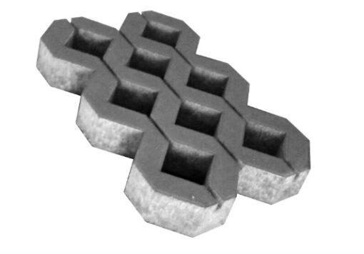 Парковочная решетка цвет черный