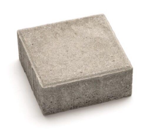Тротуарная плитка квадрат серый