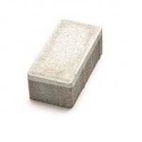 Тротуарная плитка кирпич белый