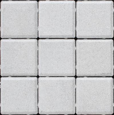 Плитка квадрат малый белый