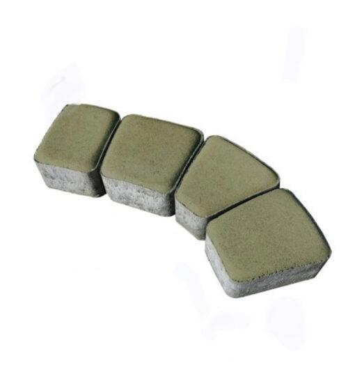 Римский камень оливковый Brukland