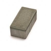 Тротуарная плитка кирпич оливковый