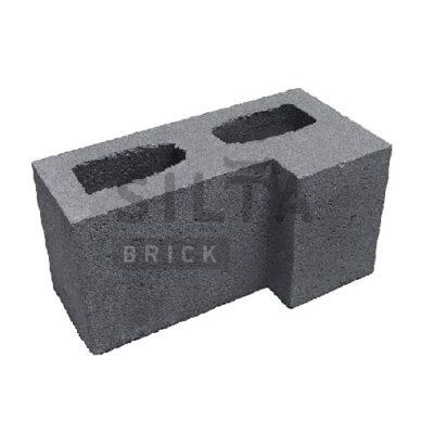 блок гладкий угловой 0-21