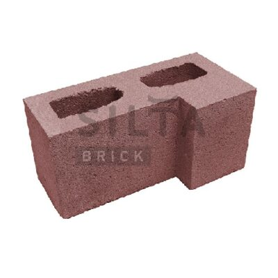 блок гладкий угловой 24-2