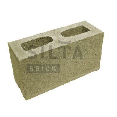 декоративный блок гладкий 25-4