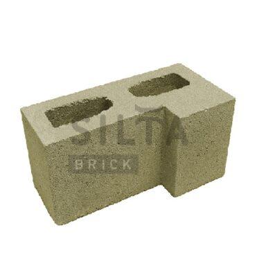 блок гладкий угловой 25-4