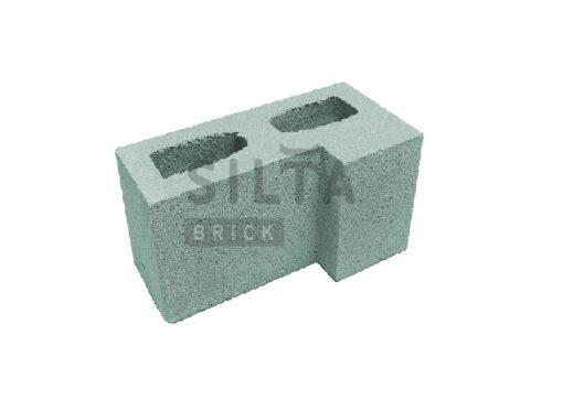 блок гладкий угловой элит 32