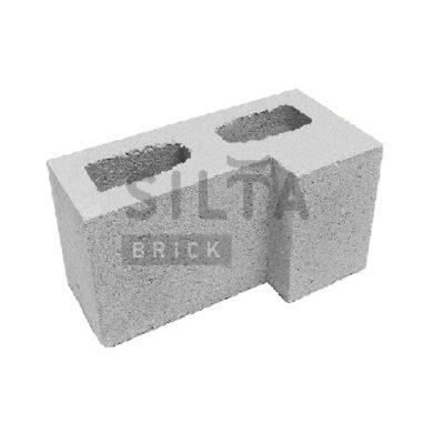 блок гладкий угловой элит 33