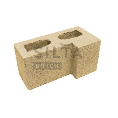 блок гладкий угловой элит 36