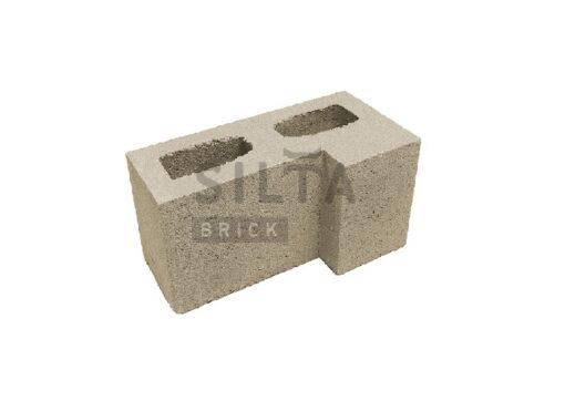 блок гладкий угловой элит 38