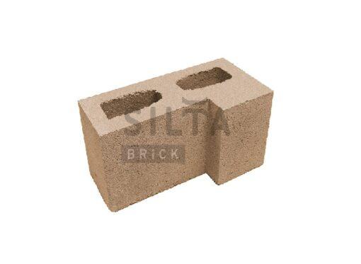 блок гладкий угловой элит 39